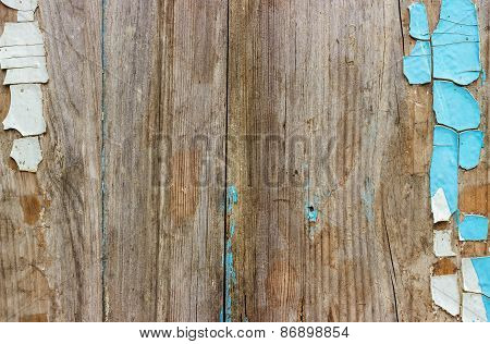 Decrepit Old Wood Background