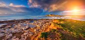 stock photo of breathtaking  - Fantastic view of the Isola delle Correnti - JPG