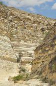 stock photo of twisty  - Gorge with steep walls - JPG