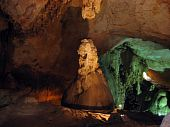image of eminent  - Stalactites in a cave Emine - JPG