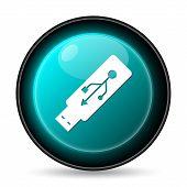 image of usb flash drive  - Usb flash drive icon - JPG