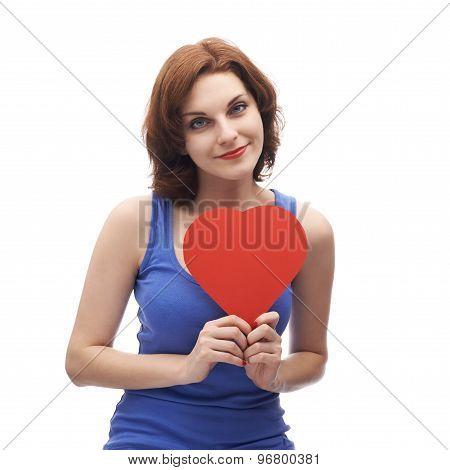 Young caucasian woman in her twenties