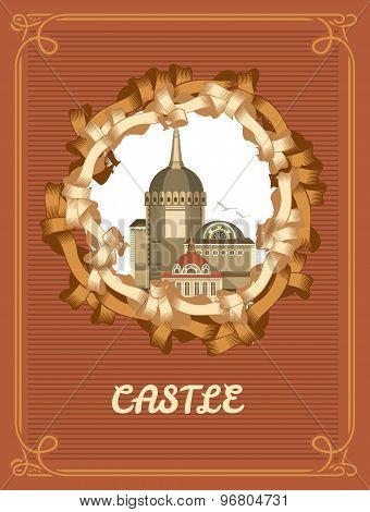 Vintage Frame Castle