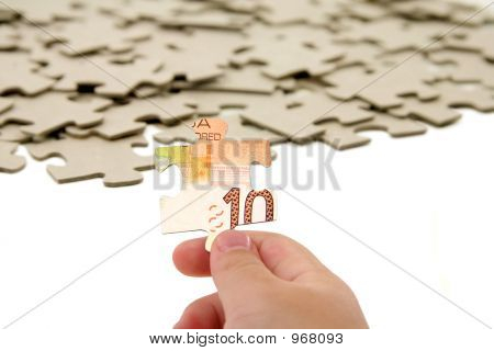 Canadian Dollar And  Puzzle