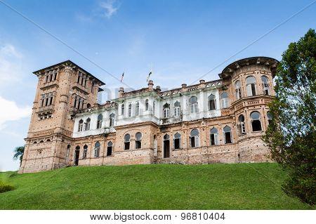 KUALA LUMPUR, MALAYSIA, November 2, 2015: 18th century Kellie's Castle is a popular tourist spot
