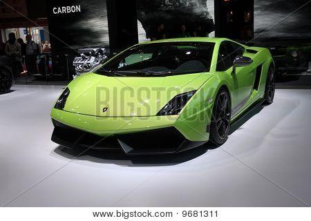 Lamborghini Gallardo Lp560-4 Superleggera At Paris Motor Show
