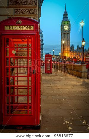 Big Ben and Red Phone