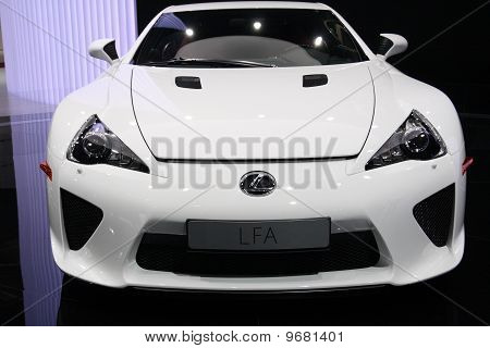 Lexus Lfa Sports At Paris Motor Show