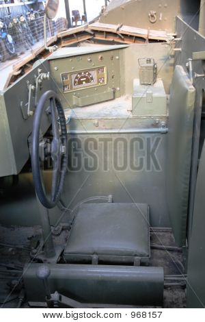 Vintage Tank Control Panel
