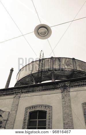 Crespi D'adda, Unesco Heritage Site Close To Milan City.