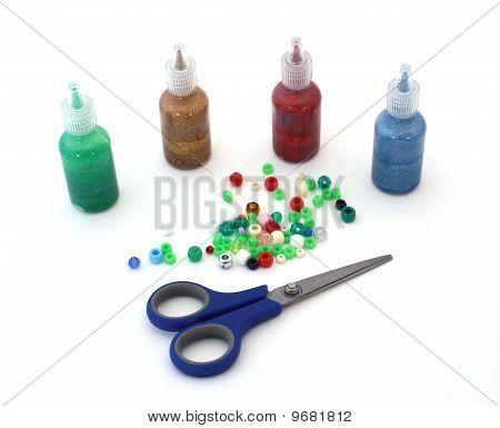 Handwerk-Materialien