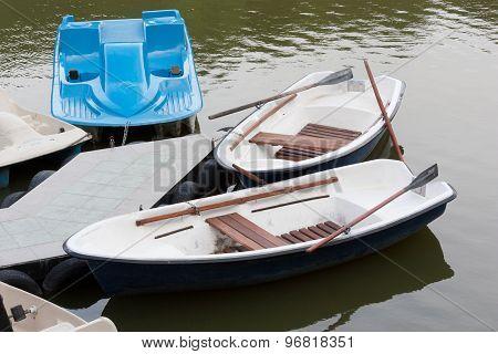 Boats And Catamaran