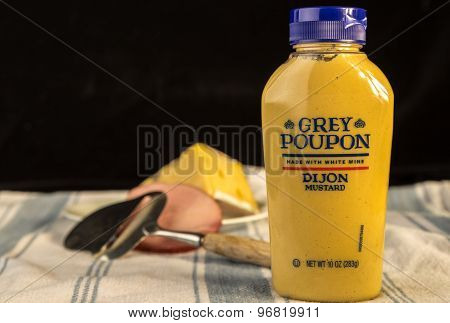 Grey Poupon Dijon Mustard