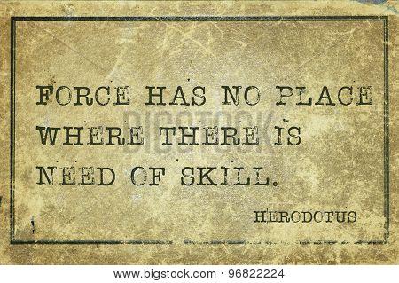 Force Herodotus