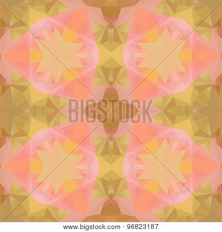 Crystal Seamless Pattern.