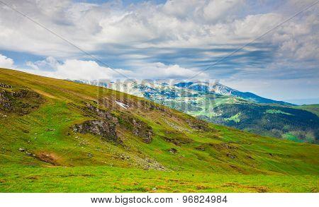 Landscapes On Transalpina, Romania