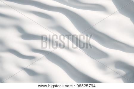 White Satin, Silk, Texture Background. A Concept Of White Flag.