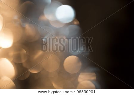 Blurred Bokeh Lights For Backgrounds, Compositions And Overlays