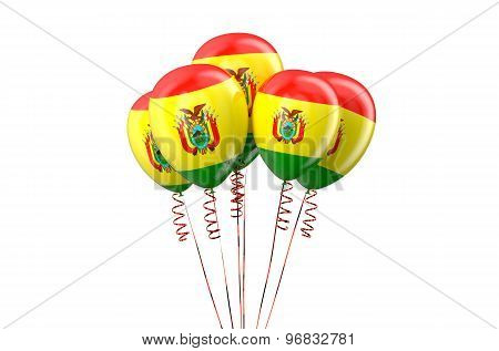 Bolivia Patriotic Balloons Holyday Concept