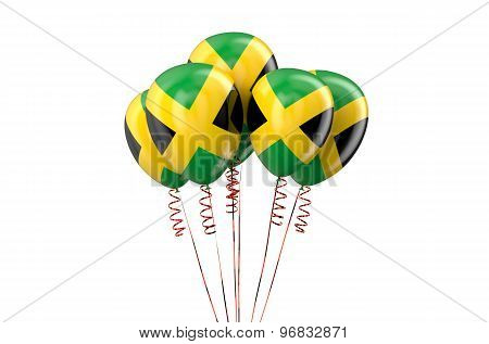 Jamaica Patriotic Balloons,  Holyday Concept