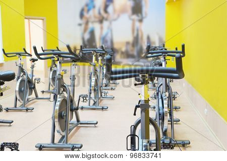 The image of fitness bycicle