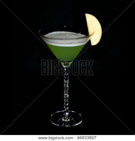 Apple chili martini