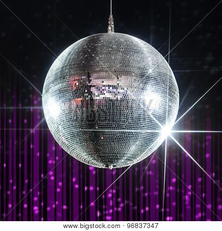 Disco ball nightclub