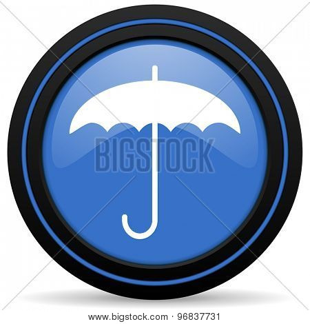 umbrella icon protection sign