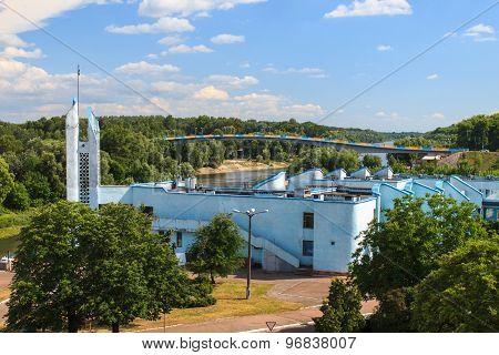 River Port Of Chernihiv