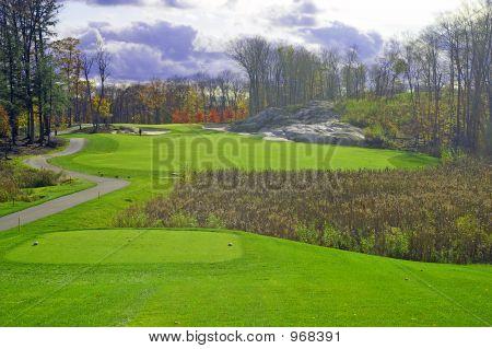 Pi06110402  Stormy Fall Golf