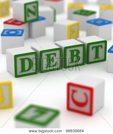 Colorful Block - Debt