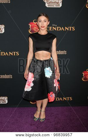 LOS ANGELES - JUL 24:  Olesya Rulin at the