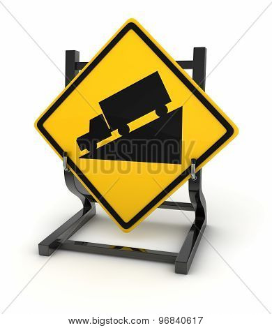 Road Sign - Ramp