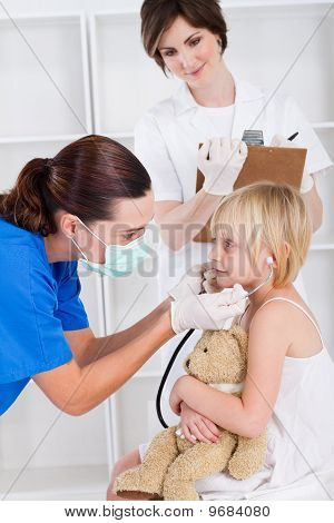 pediatrician checkup