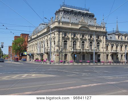 Izrael Poznanski Palace.