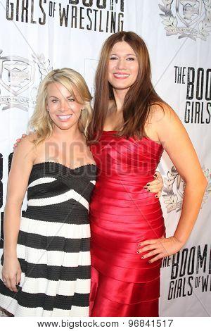 LOS ANGELES - JUL 23:  Danielle Replogle, Carolin Von Petzholdt at the