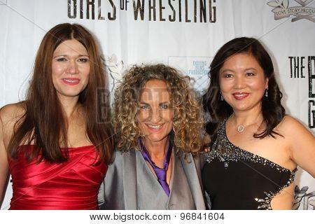 LOS ANGELES - JUL 23:  Carolin Von Petzholdt, Ursel Walldorf, guest at the