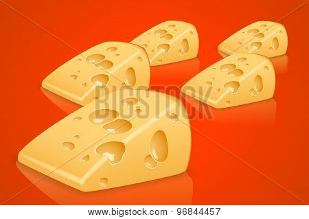 piece cheese