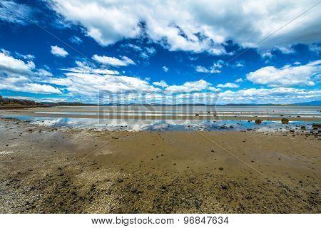 Low tide Tasmania