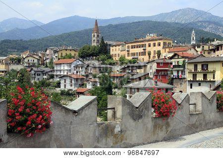 Dronero, Village In Italy, Piemont