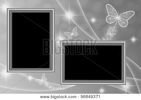 Picture Frames Background