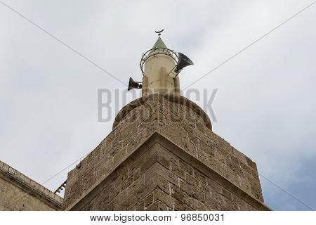 Al Muallaq mosque in Acre, Israel