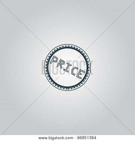 Price Icon, Badge, Label or Sticker