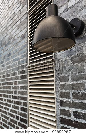 Modern Outdoor Lamp Light On Wall