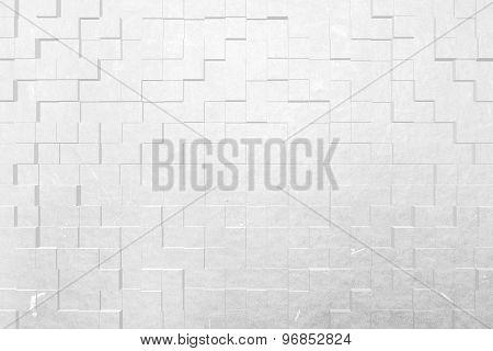 Blue Cardboard Paper Texture, 3D Block Style