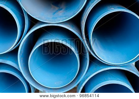 Dusty Blue Pipe Pvc