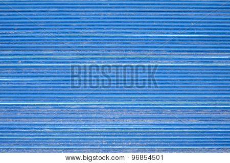 Blue Roof Tiles Arrange