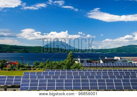 Solar Power For Cocept Of Sustainable Green Energy