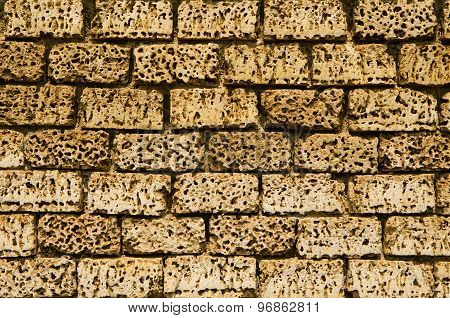 Wall Of Yellow Stone