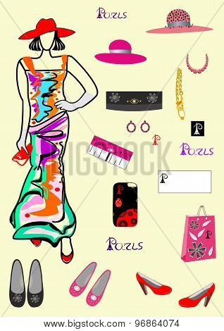 Fashion and accessories for girls